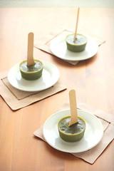 Matcha Green Tea Popsicles (from My Sweet Vegan)