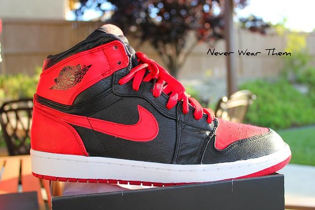 Jordan 1 Banned On Feet
