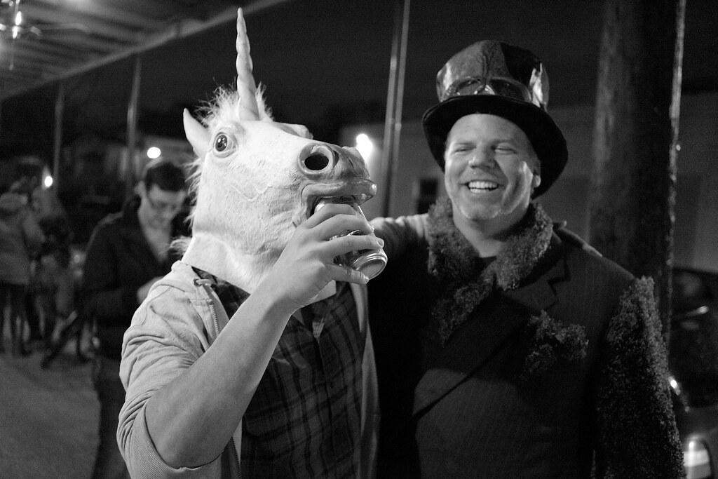 Unicorns like beer