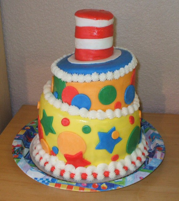 dr seuss baby shower cake flickr photo sharing
