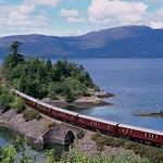 Train Chartering - Royal Scotsman by lake