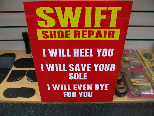 Belfast shoe repair