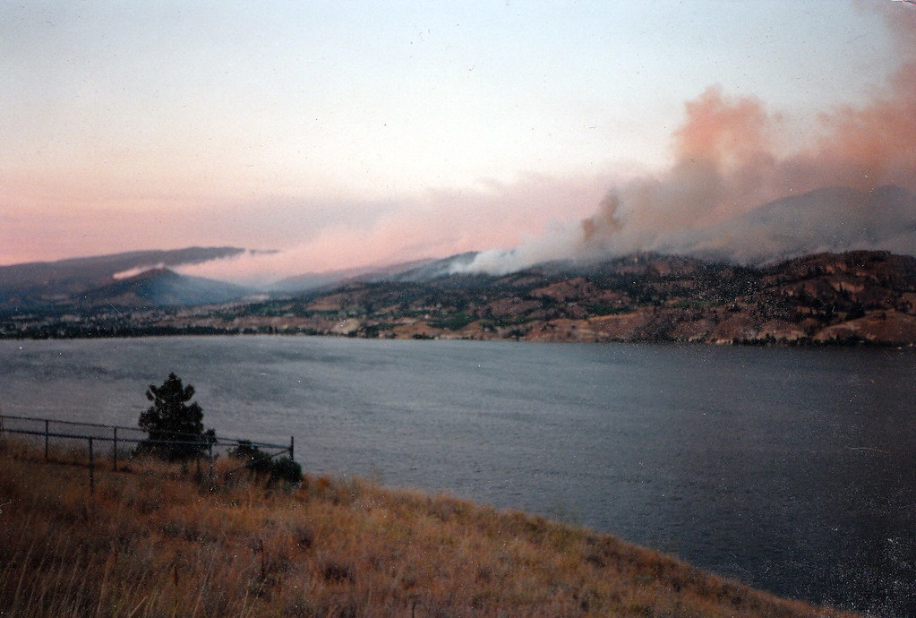 Penticton BC 1994-0700 Garnet Forest Fire