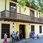 Museo del Oro Zenú, sobre la plaza de Bolívar