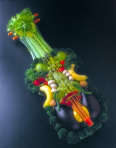 Veggie violin