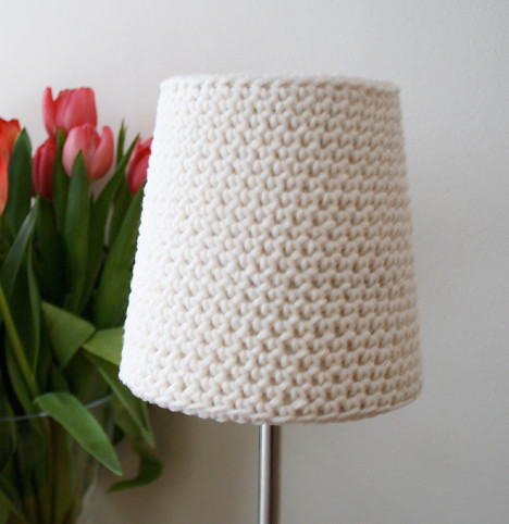Free Pattern Crochet Lampshade : crocheted lamp shade Flickr - Photo Sharing!