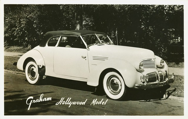 1940 Graham Hollywood Convertible Postcard