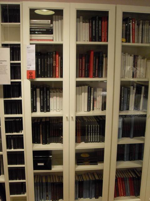3569391163 05256a9469 - Libreria billy con puertas ...