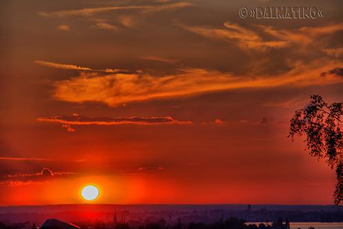 sunset sun sonnenuntergang sole sonne 2009 naturesfinest sunce dalmatino zalatak
