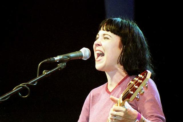 Kristin Hersh at Roskilde Festival (1998)
