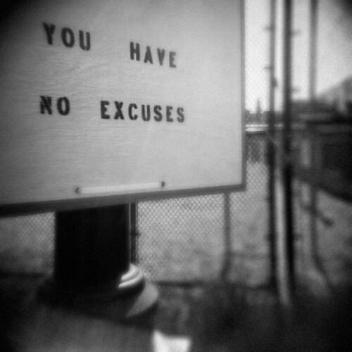 No Excuses by LowerDarnley