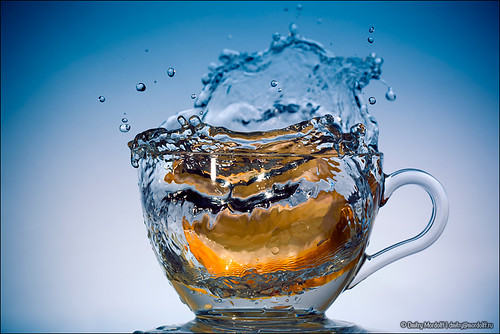 Healthy Water with splash