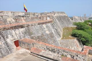 Image of Castillo San Felipe de Barajas near Cartagena.
