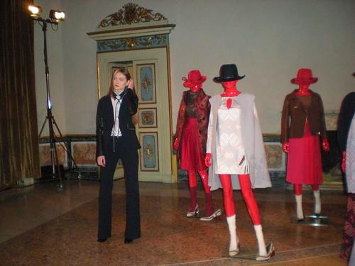 Mila Schon a Palazzo Serbelloni