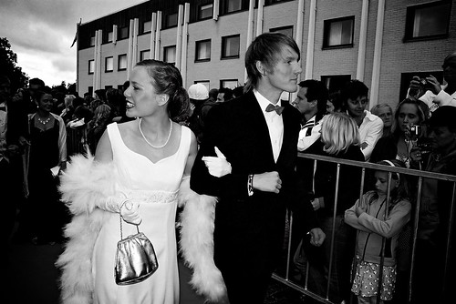 red carpet couple king handsome queen prom