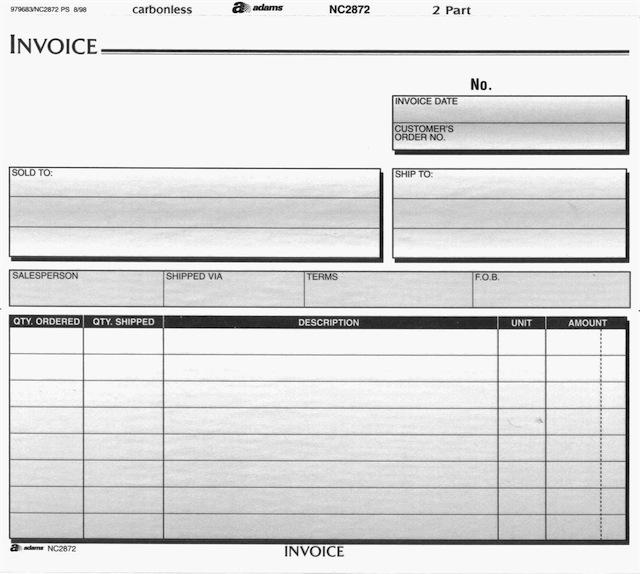 Invoice Template For Cupcakes   Joy Studio Design Gallery - Best ...