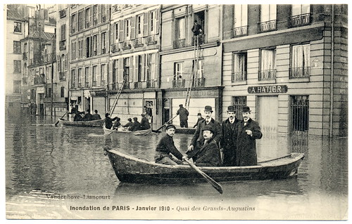 Paris Under the Waters: Out the Window and Into the Boat (1910)