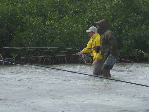 Eugene bonefishers make the most of bahamas cold snap for Fishing eugene oregon
