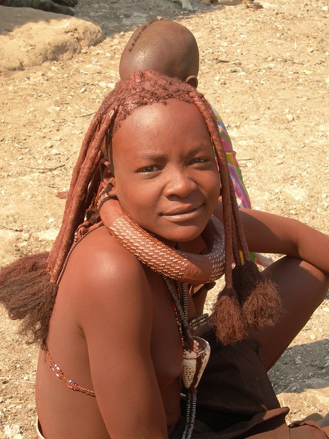 namibian little girl