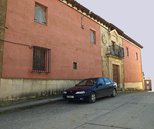 Villadiezma (Palencia). Palacio de los Obispos González. Fachada