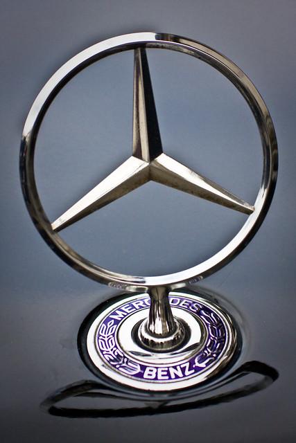 Mercedes benz a simple car hood ornament by for Mercedes benz ornaments