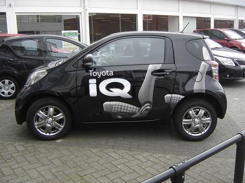 Utrecht: Toyota iQ
