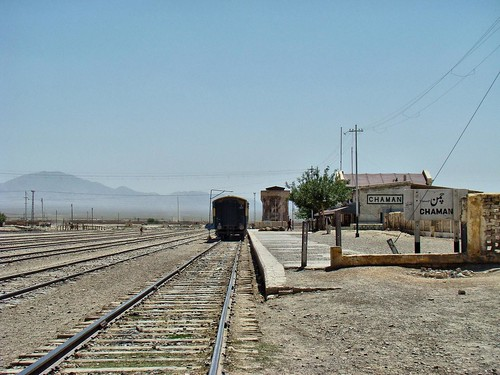 Chaman Station.
