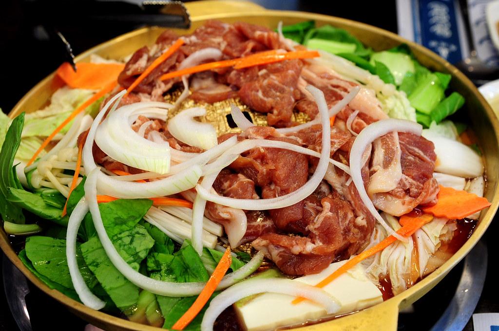 慶州館-銅盤烤肉(豬肉)