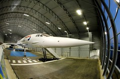 Concorde Alpha Charlie at Manchester Eco Hangar 3