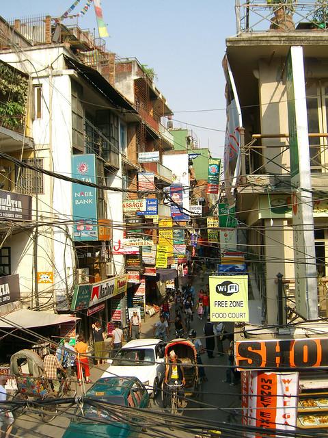 Space Invader in Kathmandu
