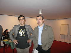JJ y Lorenzo Silva