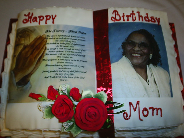Bible Birthday Cakes http://www.flickr.com/photos/sweetmaker/3578542179/