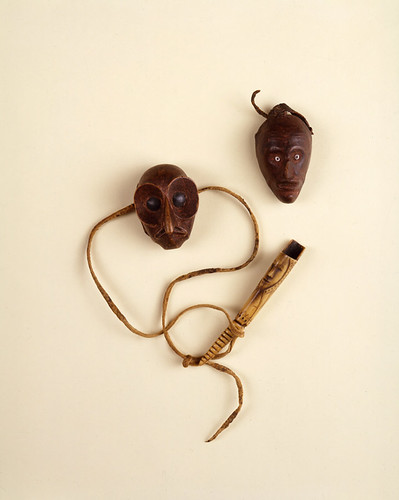 18th Century Lenape Finger Mask