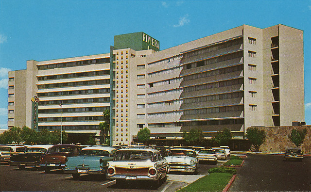 Riviera hotel las vegas postcard flickr photo sharing for Riviera resort las vegas