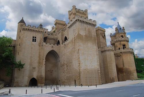 Castillo de Olite (Navarra-España)