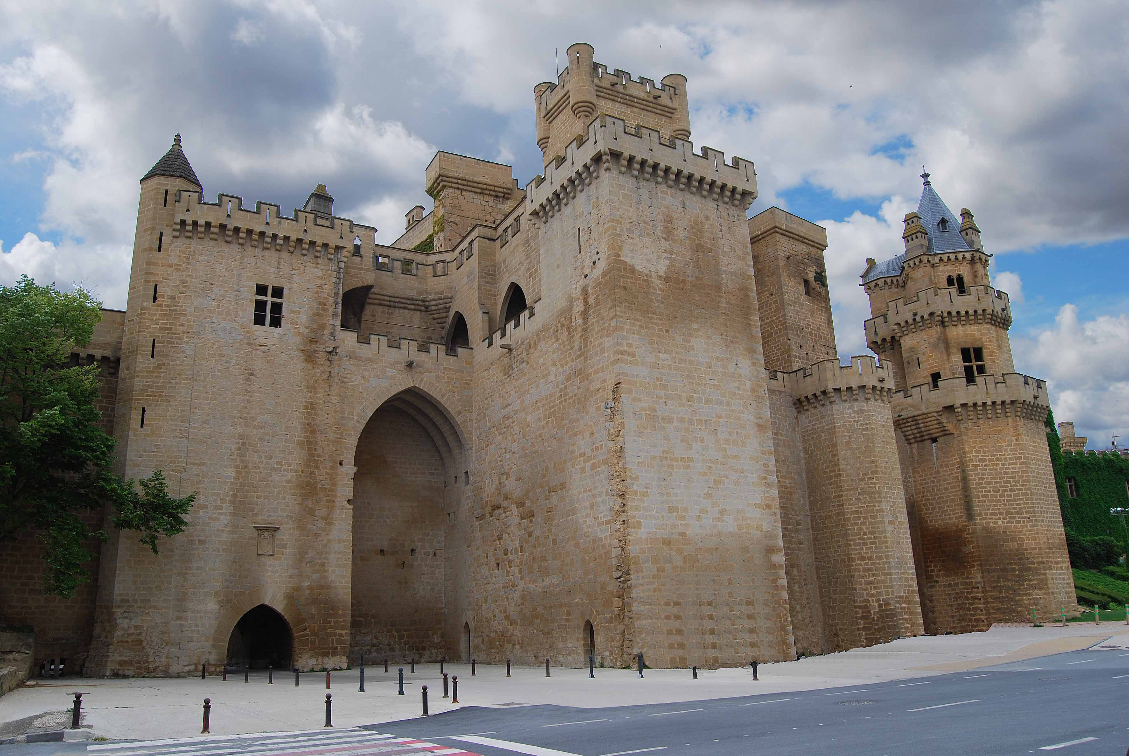 Olite Spain  City new picture : Castillo de Olite Navarra España | Flickr Photo Sharing!