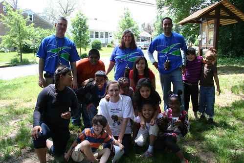 Wachovia Volunteers at Elsie Stokes Public Charter School