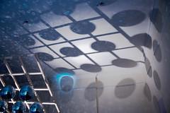 Lattice, Mirror Ball and Shadows - Brian Eno Speaker Flowers Sound Installation at Marlborough House
