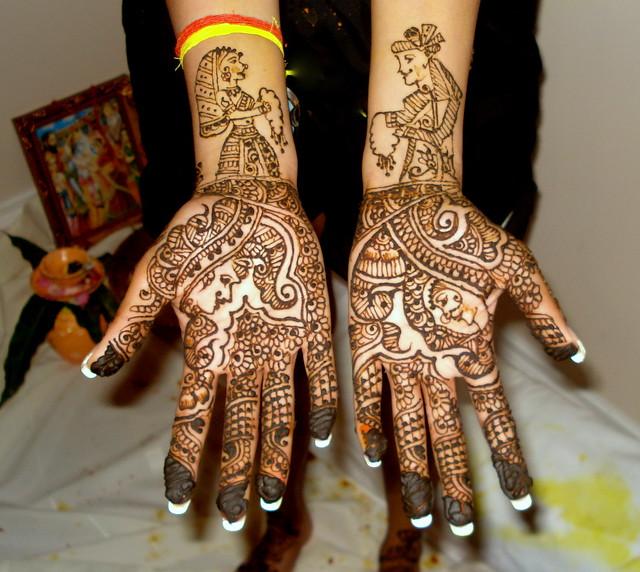 Hands Dulhan Mehndi Photo Sharing : Dulha dulhan bridal design flickr photo sharing