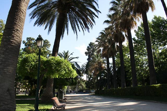 Viveros jardines del real m s conocido como parque de for Viveros valencia