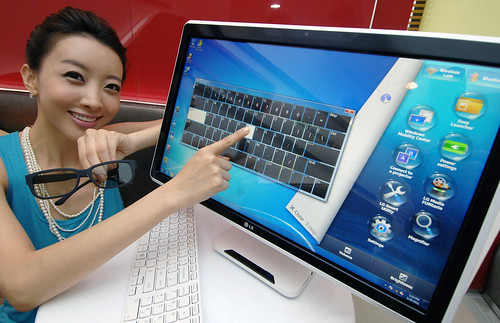 LG AND INTEL INTRODUCE FIRST ALL IN ONE PC WITH FPR DISPLAY AND IPS SCREEN TECHNOLOGY