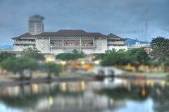 Ala Moana Center Tilt Shift