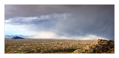 arizona house storm building clouds landscape unitedstates desert pylon scottsdale deserthighlands