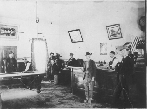 Rochester Saloon, Madison County, Montana (Ca. 1890)