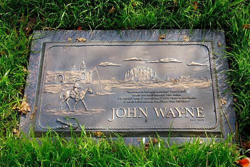 John Wayne - Grave