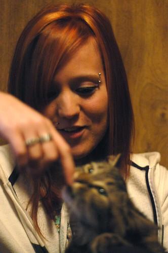 Cats Bite Felicia!