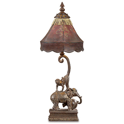 L727vfsgs Curled Tail Monkey Elephant Lamp Global