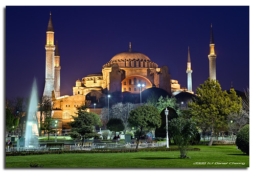 Hagia Sophia :: Blue Hour