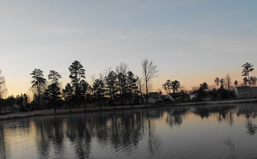 light sun reflection water sunrise virginia pond backyard virginiabeach scenicwater