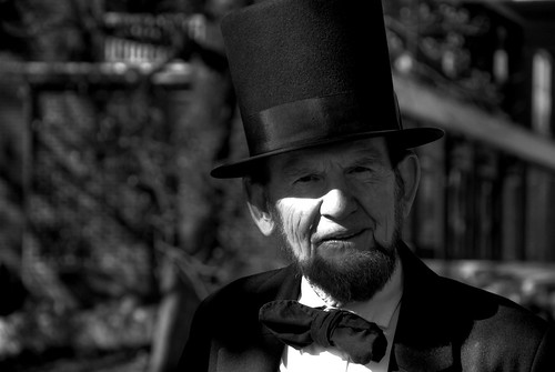 I found President Lincoln alive and well in Gettysburg